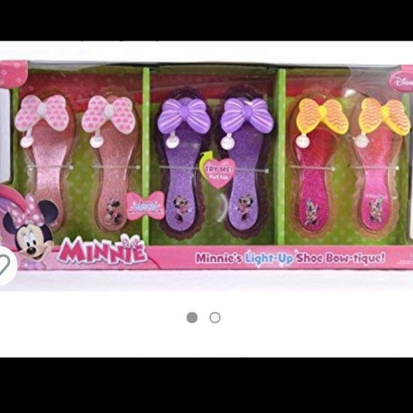 Girls Minnie Mouse Play Shoe Nwot